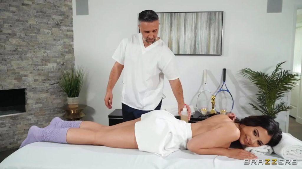 Athletic Anal Massage 2
