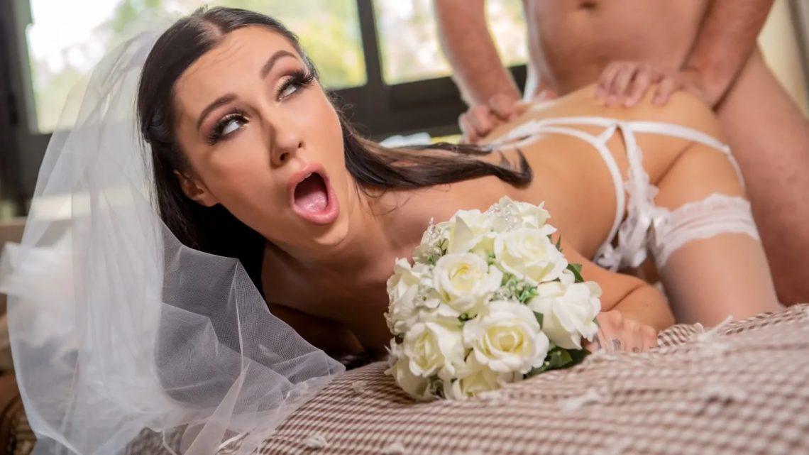 Runaway Bride Needs Dick